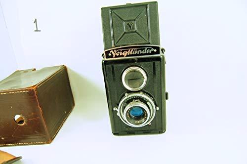 Voigtländer Brilliant - Cámara TLR Vintage 1930s de Formato Mediano