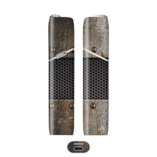 電子たばこ タバコ 煙草 喫煙具 専用スキンシール 対応機種 iQOS 3 MULTI アイコス 3 マルチ Metal (メタル) イメージデザイン 08 Metal (メタル) 01-iq07-0048