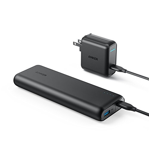 Anker PowerCore Speed 20000 PD (最軽量 Power Delivery対応 20100mAh モバイルバッテリー)【USB-C急速充電器付属】iPhone & Android対応 *2018年8月時点