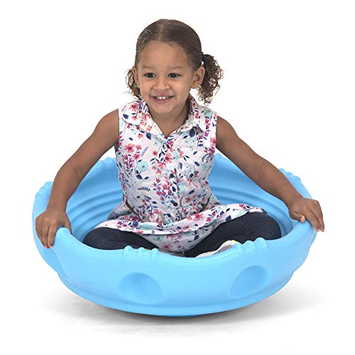 Simplay3 Rock Around Wobble Disk - Spin Climb Saucer for Children