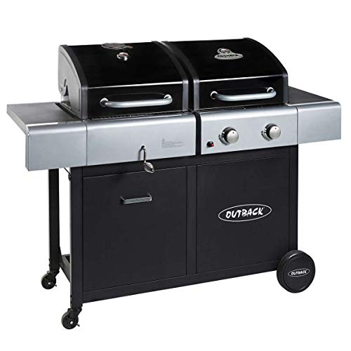 Outback 2019 Dual Fuel Gas/Charcoal BBQ - 2 Burner