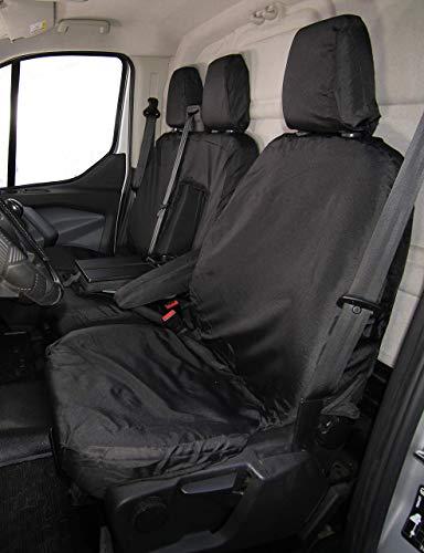 Coprisedili impermeabili Coprisedili Coprisedili impermeabili per Ford Transit Van 2014+ – Set singolo e doppio (sinistra)