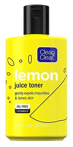 Clean & Clear Lemon Juice Toner 7.5 Ounce (222ml) (3 Pack)