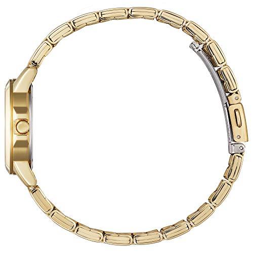 Citizen Women's Quartz Stainless Steel Strap, Gold, 14 Casual Watch (Model: EQ0603-59F)