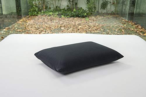 Bsensible - Funda de Almohada Protectora de Tencel, Impermeable y Transpirable Negro 80 x 50