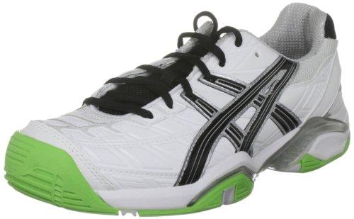 ASICS Gel Challenger 8, Scarpe da Tennis Uomo, Blanc Weiß White Limousine Lightning 0199, 42 EU