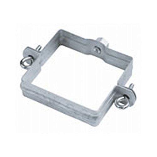 Quadratrohrschelle 100x100 mm mit Gewindemutter M10