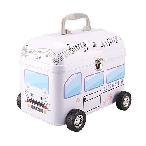 CS-JJ Medicine box EHBO kit met dubbel slot huishoudelijke geneeskunde opbergdoos Cartoon schattige mini baby kind Medisch pakket Container Huishouden, Een eerste hulp navulkit
