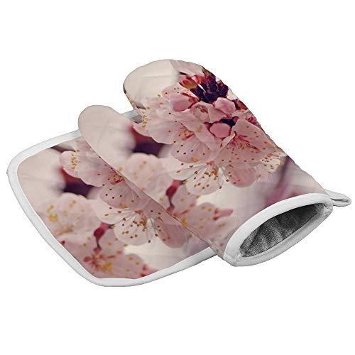 HOTLIFE-234 Isolatie Handschoenen In Roze Opwarming Hittebestendige Keuken Pot Houder en Oven Mitt Set Voor bbqmagnetron regelmatig