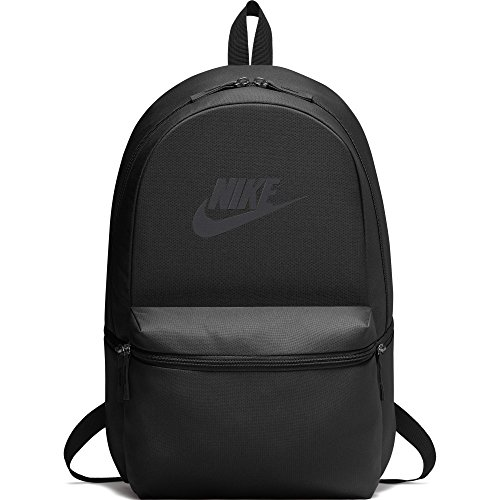NIKE Heritage Backpack, Black/Black/Anthracite, One Size