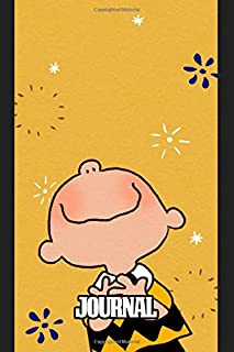 Journal: Snoopy Charlie Brown's Pet Beagle The Peanuts Comic Strip Daily Creative Inspirational Quote Workbook, Journal Paper 6 x 9 Inches 110 Pages, Inexpensive Gift For Boys And Girls.