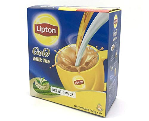 LIPTON Milk Tea Gold 3 In 1 (16.5g x 20)(Hong Kong Version)