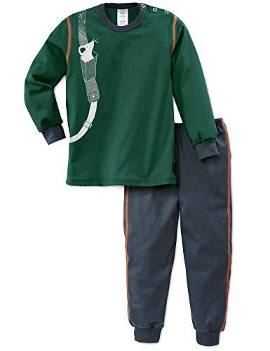 CALIDA Baby-Jungen Toddlers Hiking Zweiteiliger Schlafanzug, Grün (Jasper Green 578), 92/98 (Herstellergröße: 92)