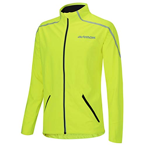 Airtracks Thermo Fahrradjacke AIR TECH - Damen - Neon - L