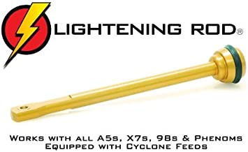 Techt Lightening Rod for Cyclone Feed