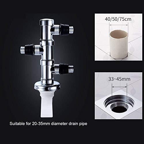 Blsty wasmachine, aansluiting speciaal voor afvoer, stekker, afvoerslang, overloopbeveiliging, voor badkamer, keuken
