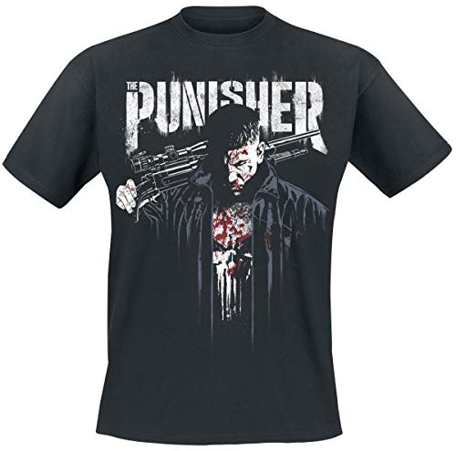 The Punisher Dressed in Blood T-Shirt Nero L