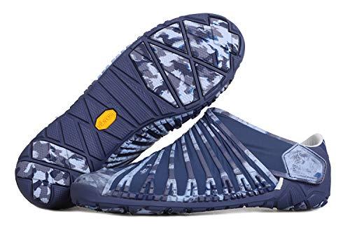 Fivefingers Vibram Furoshiki EVO - Zapatillas deportivas para hombre, resistentes, con suela estable para exteriores, Marble Blue., 40 EU