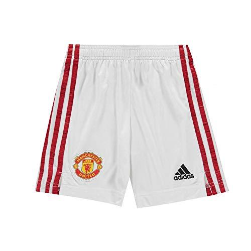 Manchester United FC - Pantalones Cortos de Primera equipación para niño - 2020/21 - Producto Oficial - 15-16 años