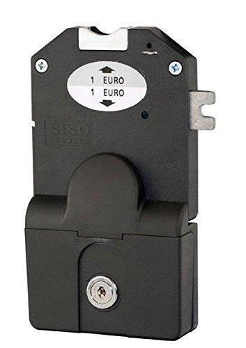 ''pre-programar monedas cerrojo de cerradura con función kassier Izquierda Llave para 1& # x20ac; monedas con monedas coleccionables