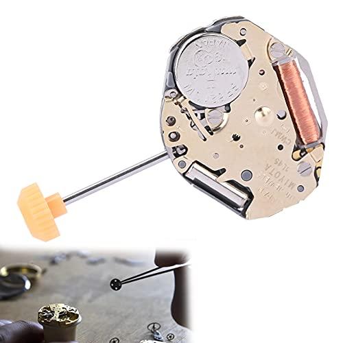 Movimiento de reloj, material de aleación Movimiento de reloj de repuesto profesional para taller de reparación de relojes para piezas de reparación de relojes