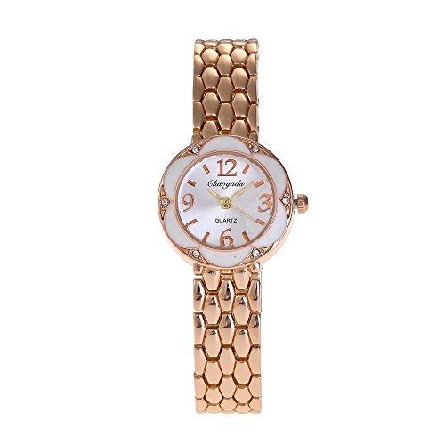 HWCOO Chaoyada Watch Women's Watch Casual Bracelet Watch New Quartz Watch (Color : 1)
