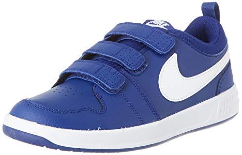 Nike Unisex-Child Pico 5 (GS) Sneaker, Deep Royal Blue/White, 40 EU
