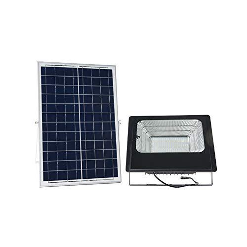 LED Solar Foco Proyector Con Control Remoto, Exterior Impermeable IP65 Sensor Luz...