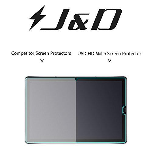 J&D Kompatibel für 3er Packung Huawei MediaPad M5 10.8 inch Displayschutzfolie, [Antireflektierend] [Anti Fingerabdruck] Matte Folie Schutzschild Displayschutzfolie für Huawei MediaPad M5 10.8 inch - 4
