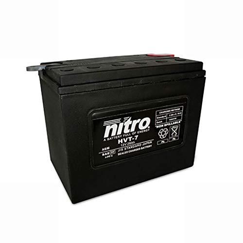 Batería 12 V 30 Ah HVT 07 Gel Nitro XLH Sportster 73-77
