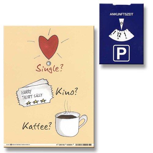 Parkscheibe Single? Kino? Kaffee?