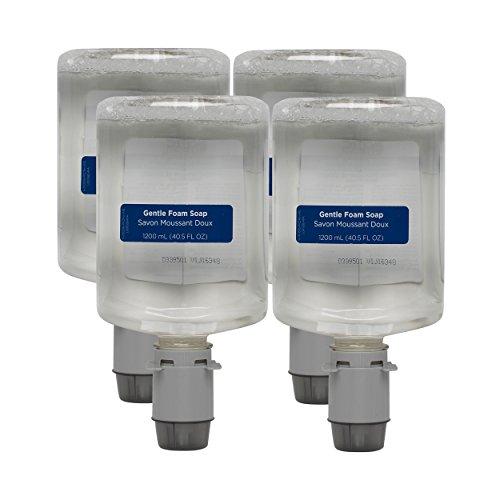 Pacific Blue Ultra Manual Gentle Foam Hand Soap Refill, Fragrance-Free, Dye-Free, 43714, 1200 mL Per Refill, 4 Refills Per Case