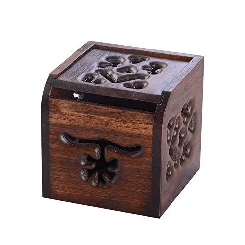 DY TissueCreative Wood Products - Caja de pañuelos para restaurar formas antiguas, se puede poner en la sala de estar o en el baño