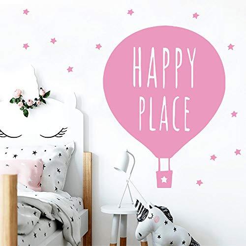 XYVRS Kreative Luftballon Wandaufkleber Abziehbilder Wandbilder für Kinderzimmer Schlafzimmer Abnehmbare Dekoration Wandaufkleber 58cmX68cm
