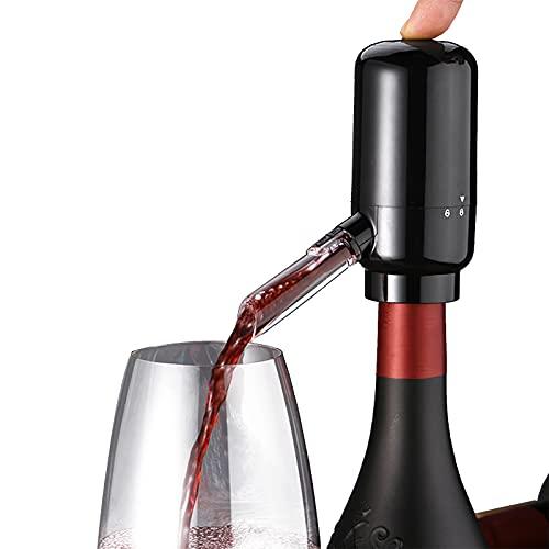 KNMY Elettrico Versatore Aeratore per Vino, Aeratore Elettrico Automatico Quick Decanter per Vino, Istantaneo Tocco Intelligente Decanter per Vino e Pompa di Erogazione del Vino Rosso Bianco