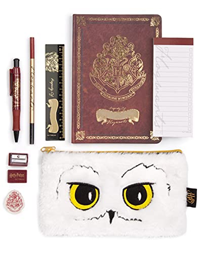 Harry Potter Schreibwaren Set Kids A5 Hogwarts Buch Hedwig Schulbedarf Kit Einheitsgröße