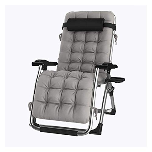 MTCWD Sun Lounger Garden Chairs Folding Chair Camping Chairs Patio Chairs Reclining for Heavy People Outdoor Beach Lawn