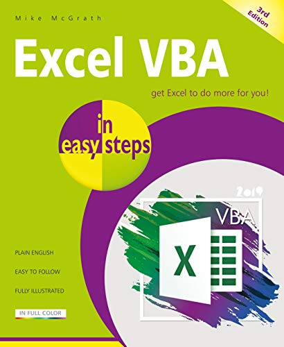 Excel VBA in easy steps, 3rd Edition Front Cover