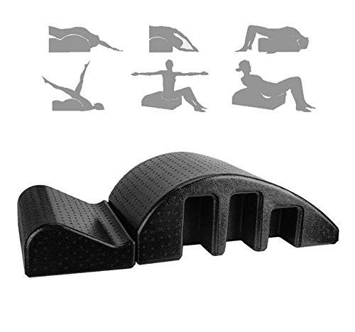 EPP Pula Arc Massage Bed,Multiusos Pilates Arc Corrección de columna Corrección cervical Yoga Masajeador de espalda Camilla Masajeador de equipo de órtesis espinal Camilla de relajación para s