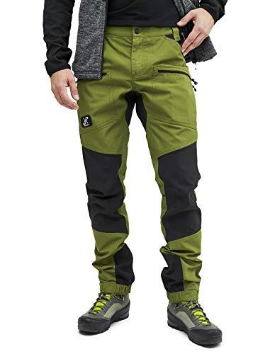 RevolutionRace Nordwand Pro Pants Herren Wasserabweisende, Atmungsaktive und Strapazierfähige Outdoorhose zum Wandern, Trekking, Camping, Klettern, Mountainbiken und Jagen, Cactus Green, XS