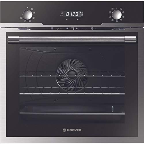 Hoover H-OVEN 500 HOZ5870IN - Horno eléctrico integrado, color negro y acero inoxidable