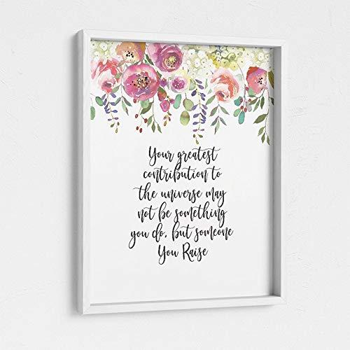 Adoptionsdruck ist ein tolles Geschenk für neue Eltern. Adoptionsparty, Pflegeeltern Geschenke, Schwangerschaftsgeschenke Familie Rahmenlose dekorative Malerei A77 60x90cm