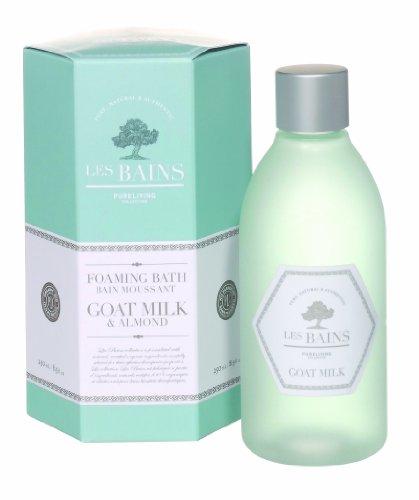 Les Bains Foaming Bath, Goat Milk, 8.5 Ounce by Les Bains