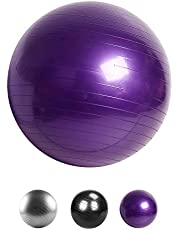 ikaufen Oefening Bal, Yoga Balance bal 55cm-85cm Anti-slip Dikke Fitness Bal voor Gym Yoga Pilates