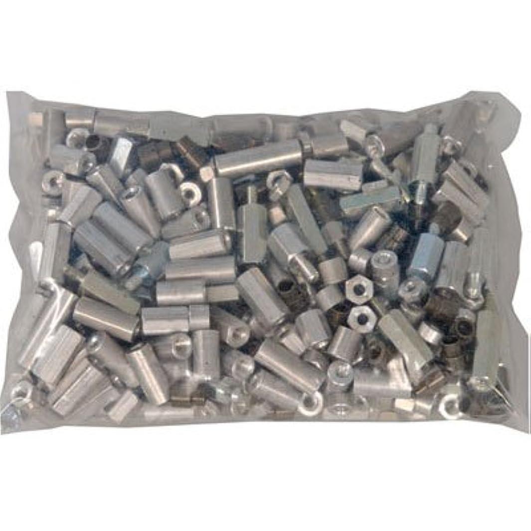 Jameco Valuepro GB140LB Spacers and Standoff, Assorted, Aluminum