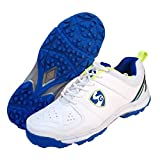 SG Cricket Shoe Innings - White/Lime/Blue - 9 UK