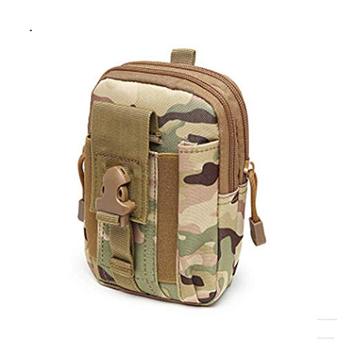 Poches tactiques ventilateur militaire poches de sport en plein air poches de téléphone portable poches étanches hommes pour les sports de plein air (CP)