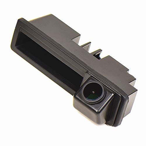 HD 1280x720p Reversing Camera Integrated in Trunk Handle Rear View Backup Camera for Audi A4 B7 2005-2008 A3 03-12/ A6(4F) 04-11/ Q7 (4L0) 05-15