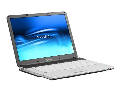 Sony Vaio -FS215S 39,1 cm (15,4 Zoll) WXGA Laptop (Intel Centrino 1.86GHz, 512MB RAM, 100GB HDD, DVD+-RW Double Layer, XP Home)