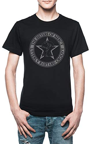 The Sisters of Mercy - The Worlds End - Utterly Bastard Groovy Herren T-Shirt Schwarz